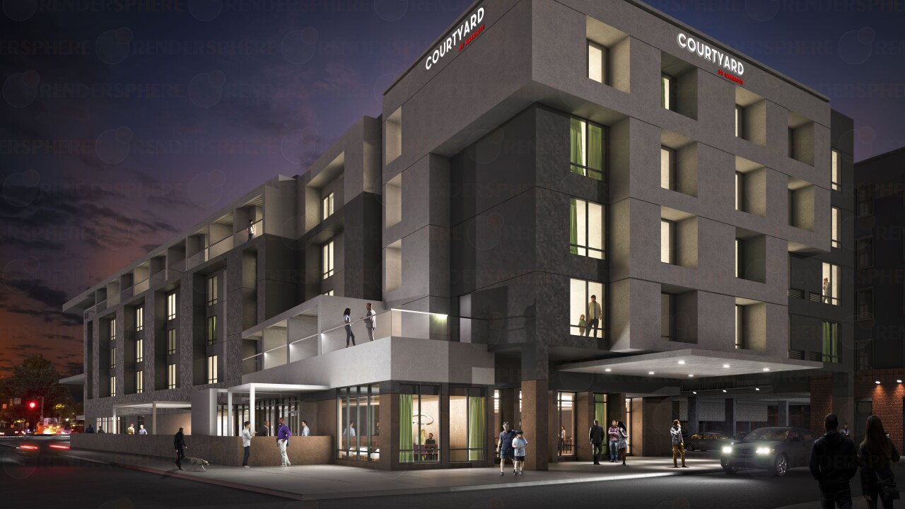 128-room hotel slated for undeveloped section of West Broad Street