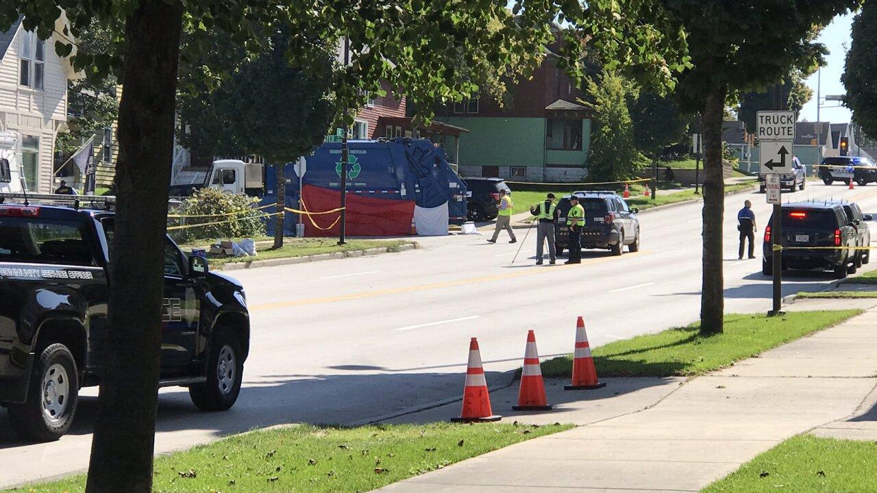 Child dies after being hit by Sheboygan garbage truck