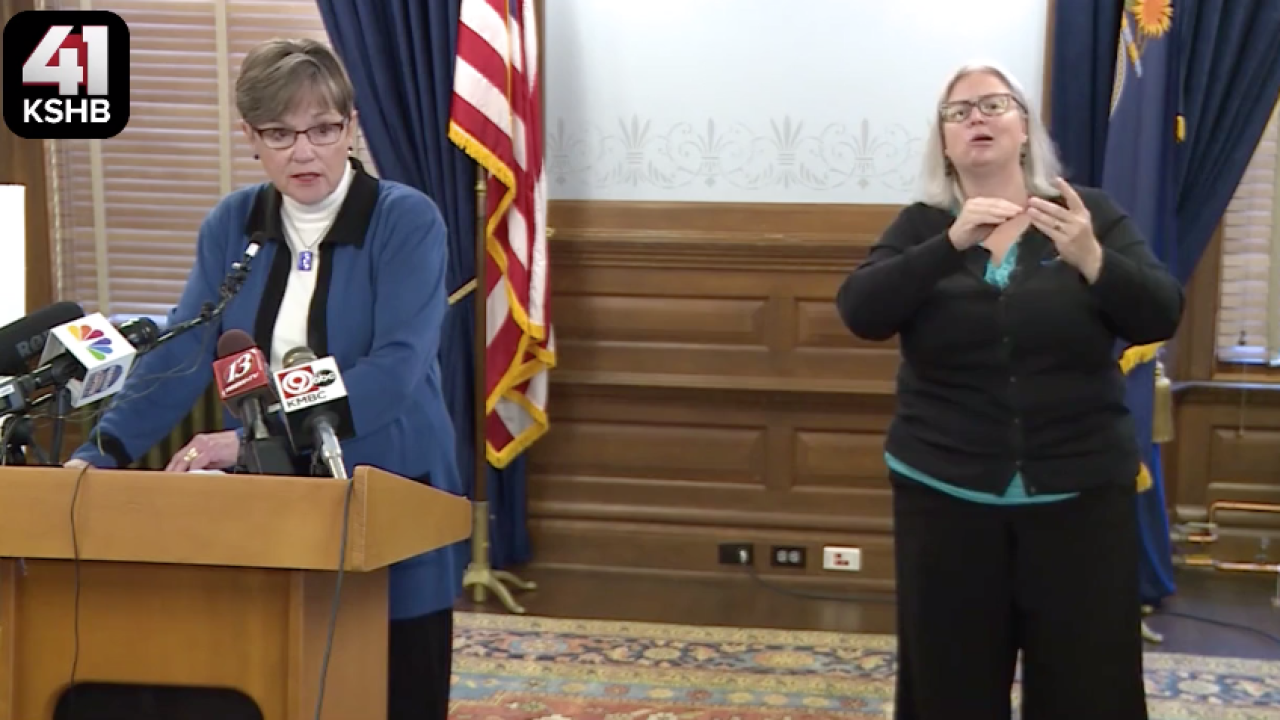 Gov. Laura Kelly press conference schools.png