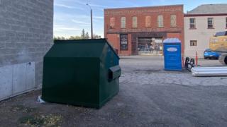 Rodney Street dumpster beautification