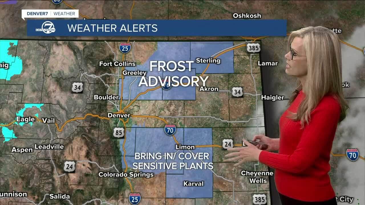 Frost Advisory tonight