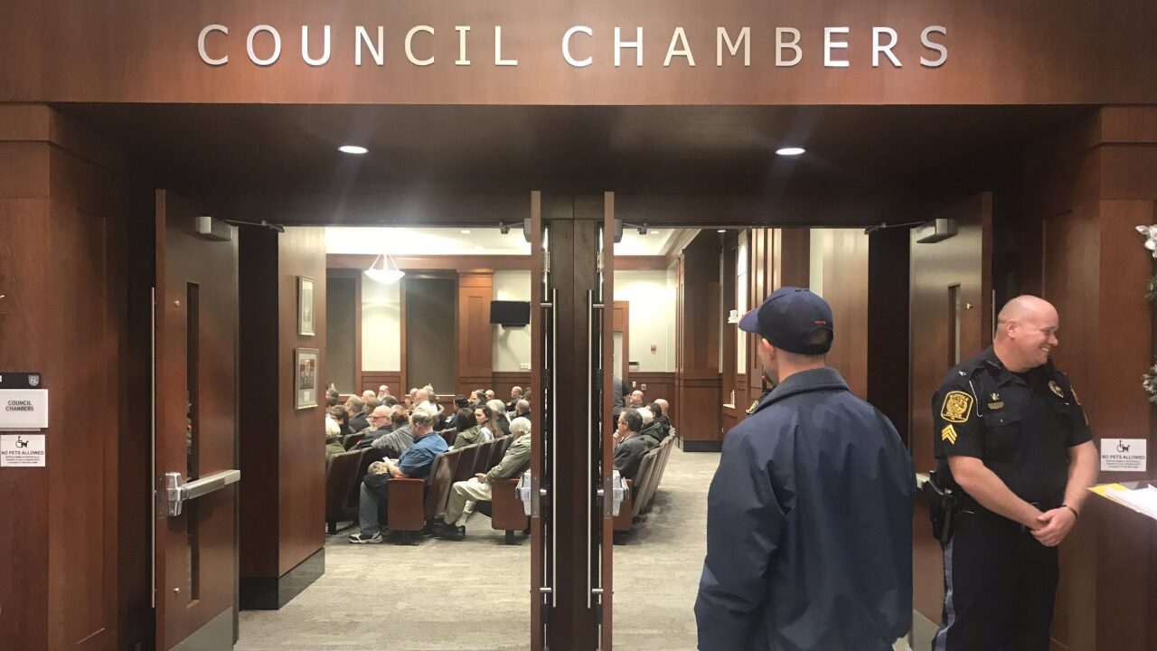 Second Amendment sanctuary supporters come out in numbers demanding action from Suffolk CityCouncil