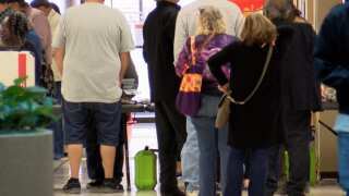 Early voting in Texas begins with lines, strong turnout