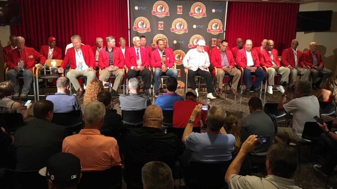RECAP: Pete Rose inducted into Reds Hall of Fame