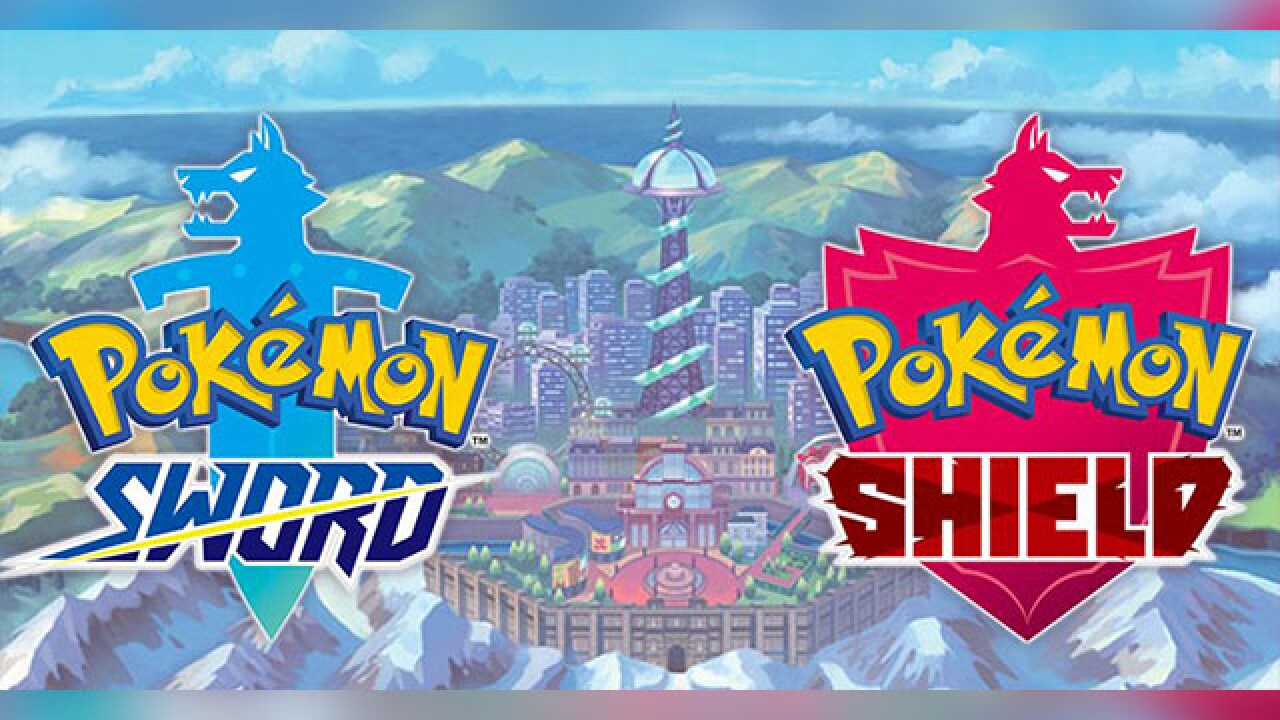 Pokemon Sword Pokemon Shield Unveiled During Nintendo Direct