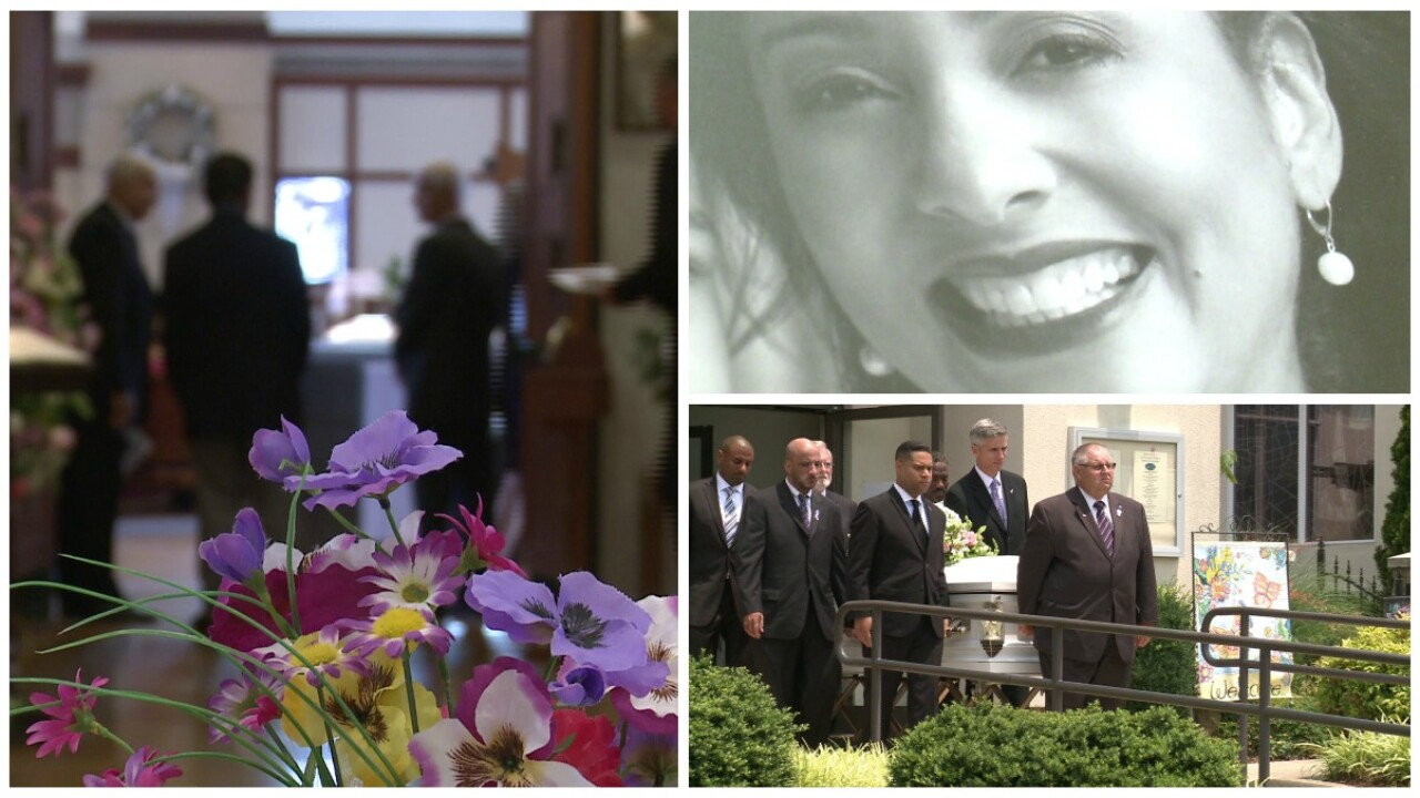 Hundreds gather to honor and bid farewell to Stephanie Rochon