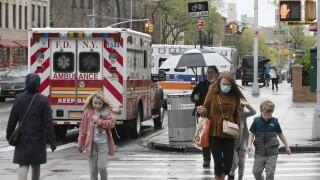 Virus Outbreak in New York