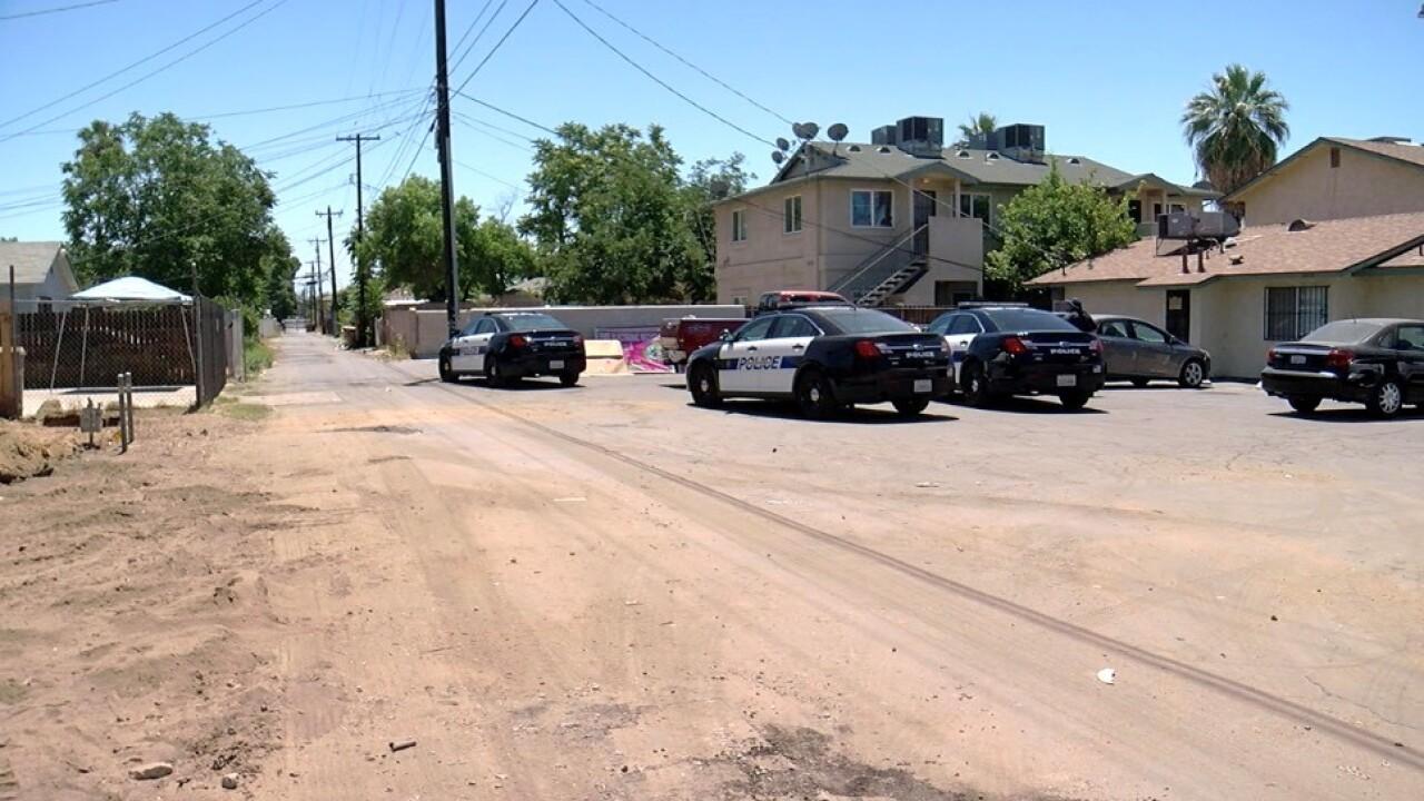Monterey and Haley Street Stabbing