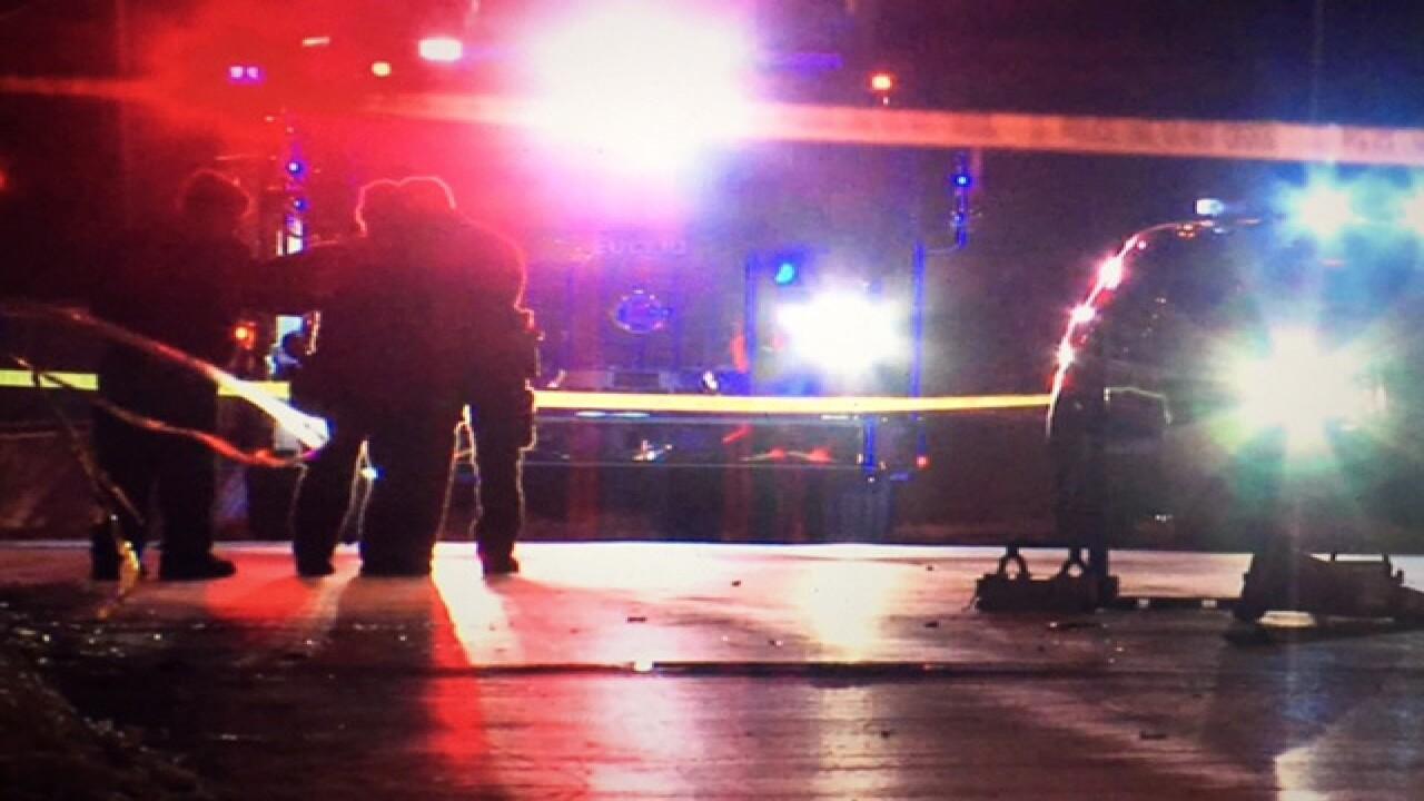 Pedestrian killed in crash