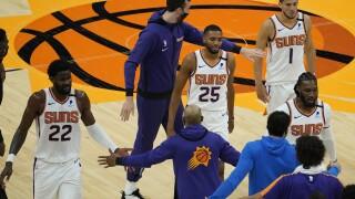 Kings Suns Basketball