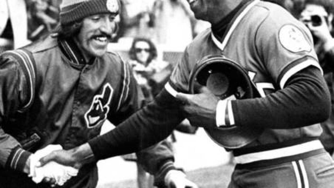 PHOTOS: Celebrating the history of the Cleveland Indians on Opening Day
