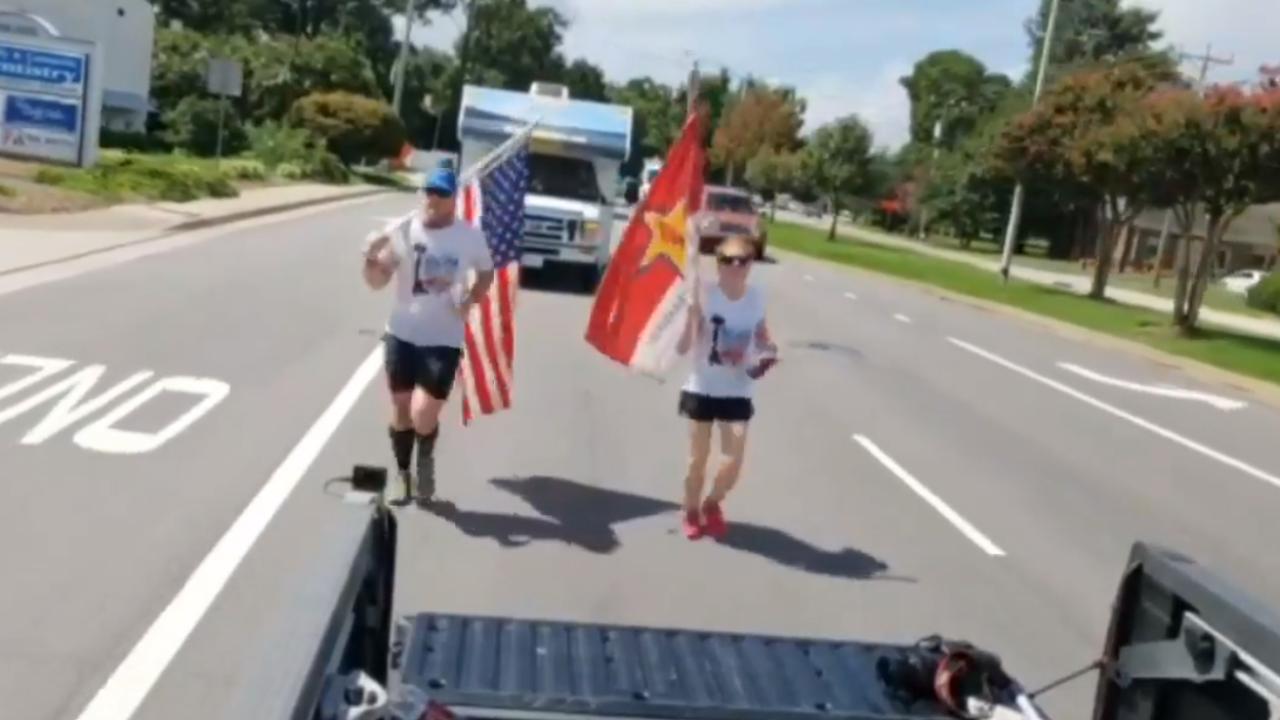 250-mile memorial run honoring fallen service members begins at FortStory