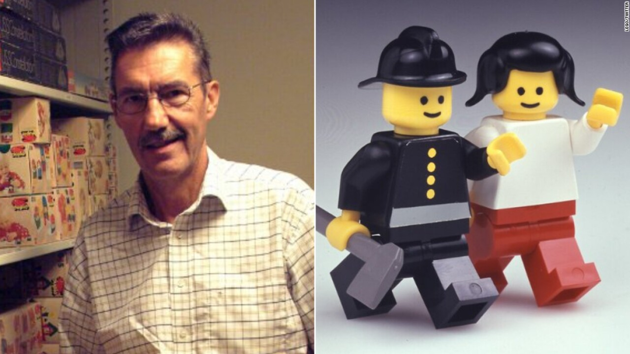 Jens Nygaard Knudsen, inventor of the Lego figurine, dies at 78