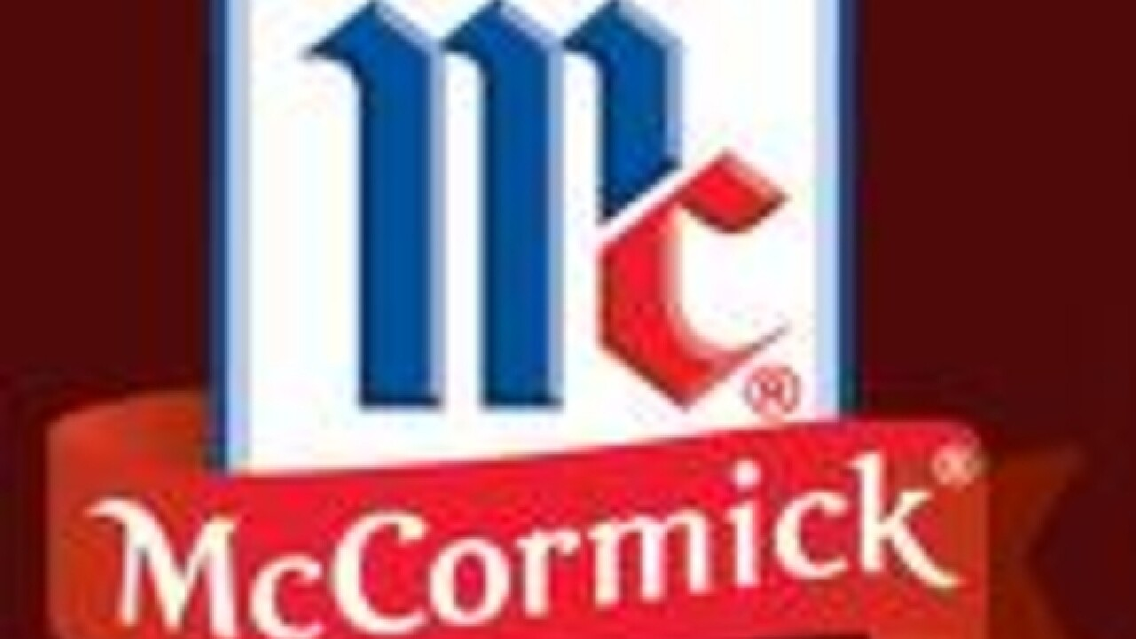 Spice maker McCormick buys Reckitt Benckiser's food brands for $4.2 billion