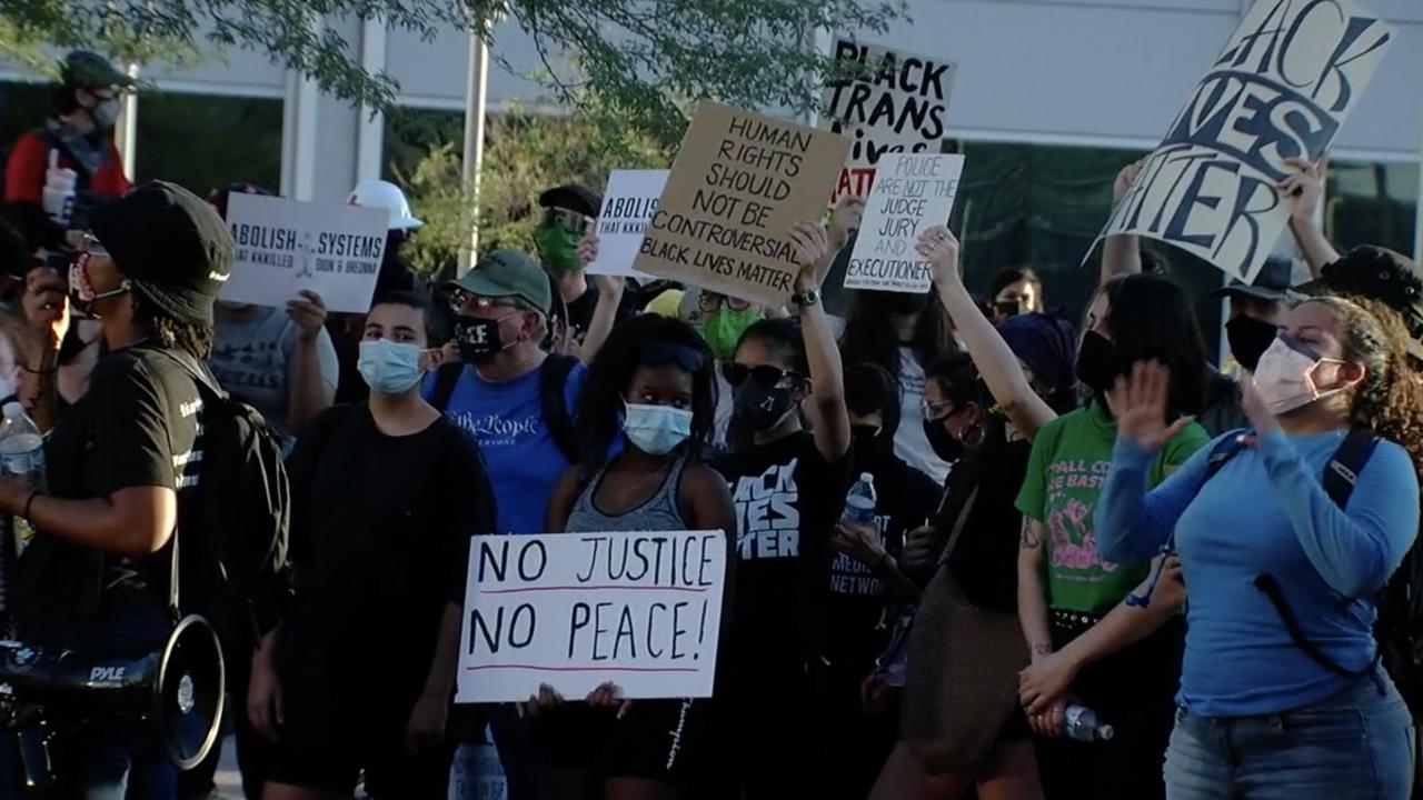 Black Lives Matter protest Phoenix