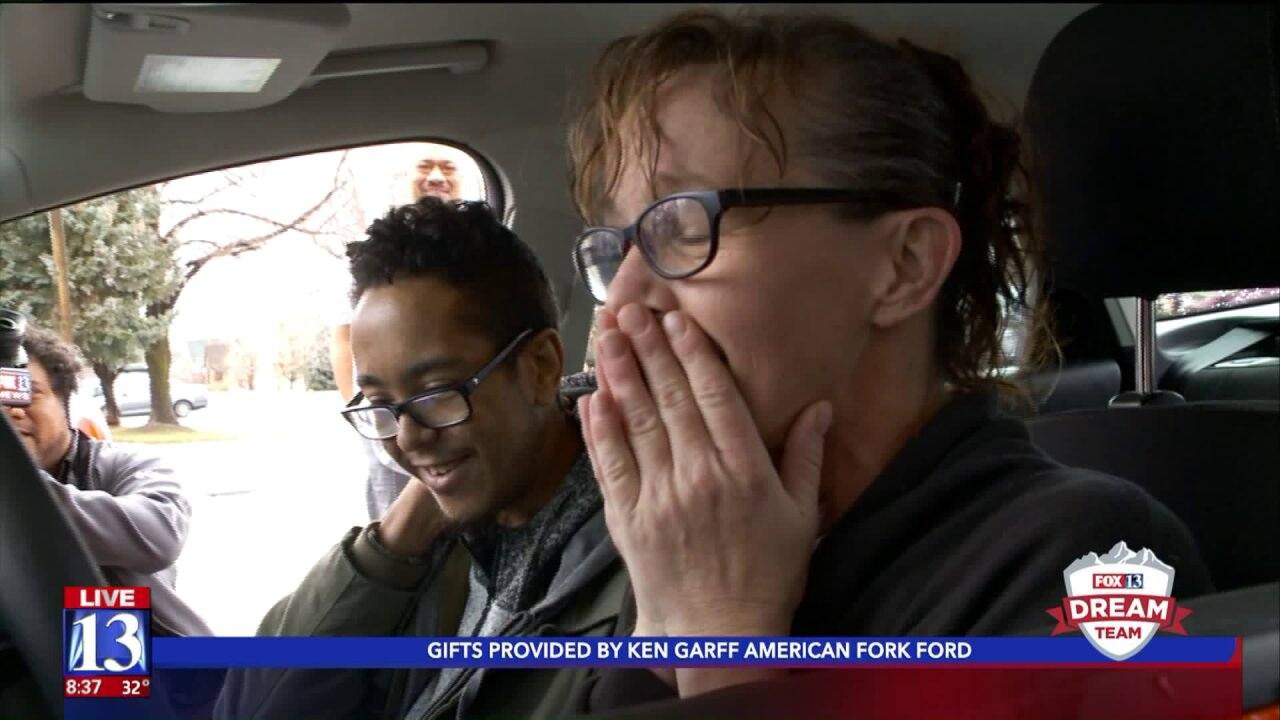 Woman working drive-up window at Springville dry cleaner gets string of life-changing tips