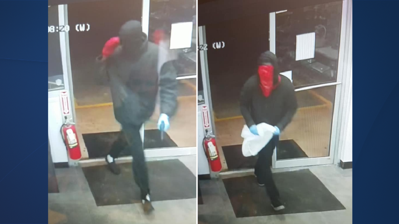 Deputies searching for two men connected to Express Lane robbery in Franklin County