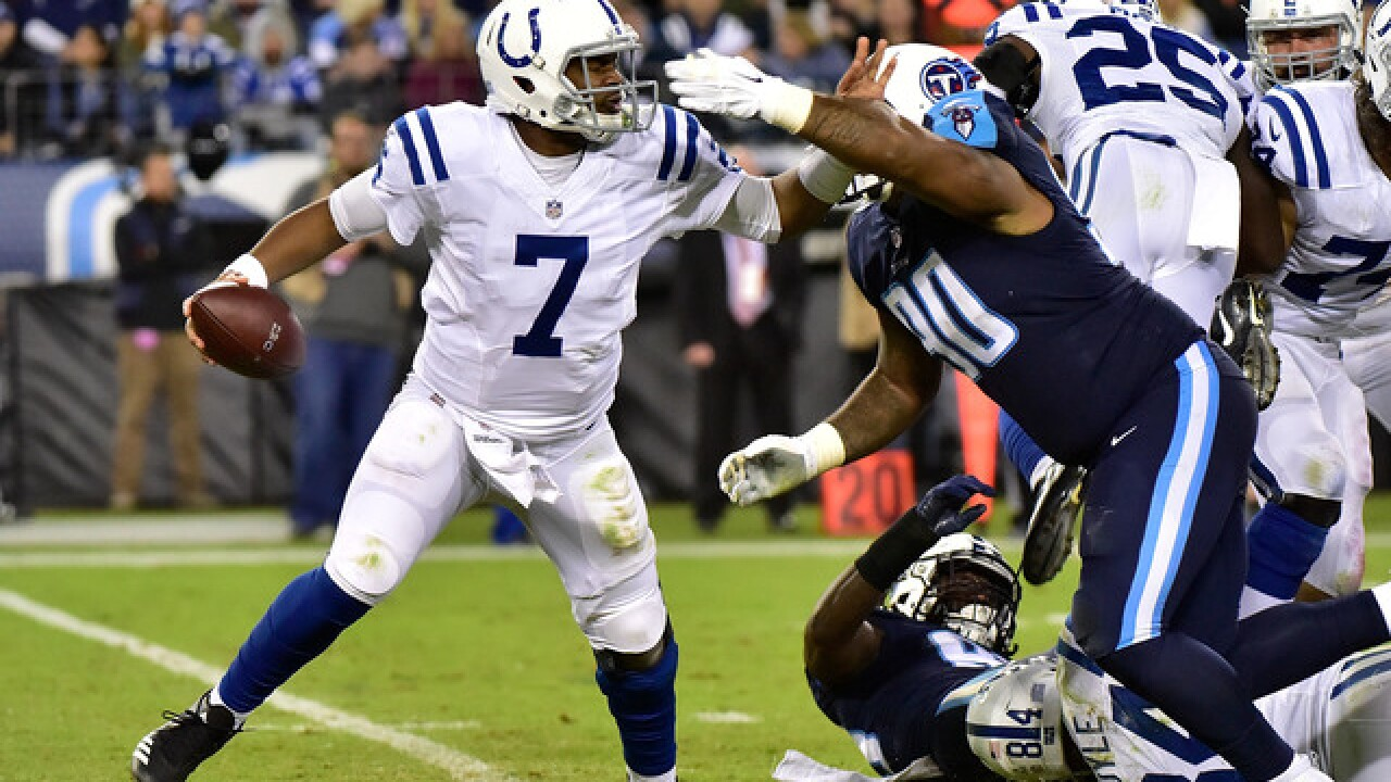 Brissett shows promise, but Colts miss Luck