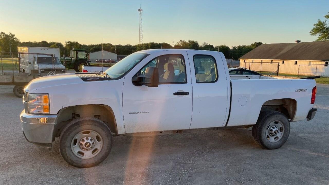 Stolen MODOT truck