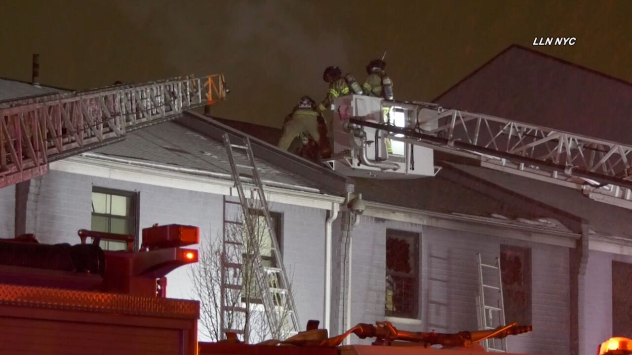 Jersey City house fire