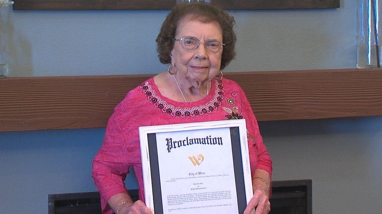 Waco woman celebrates 105th birthday