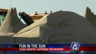 The Texas SandFest is back this weekend in Port Aransas