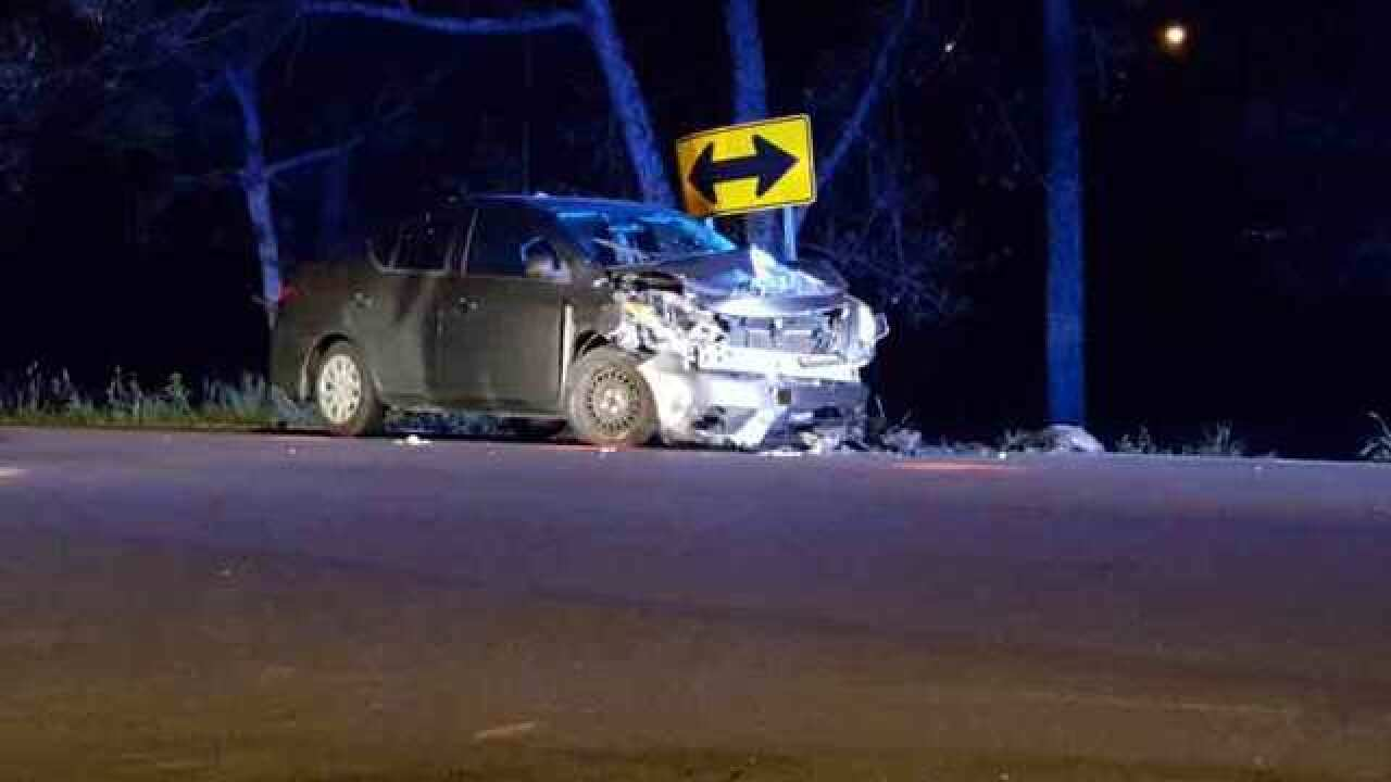 First Responders Reportedly Hit At Crash Scene