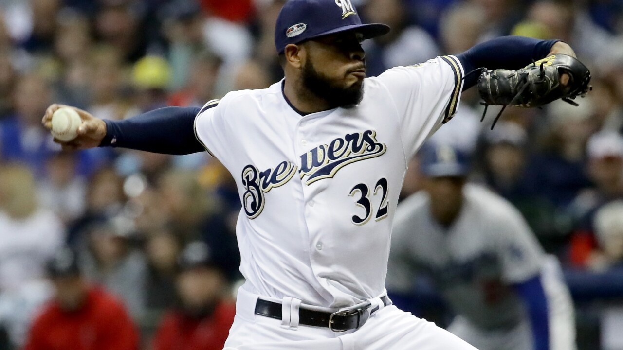 Jeremy Jeffress's food truck to debut at Miller Park in May.
