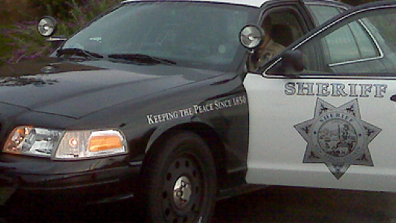 sheriff patrol car
