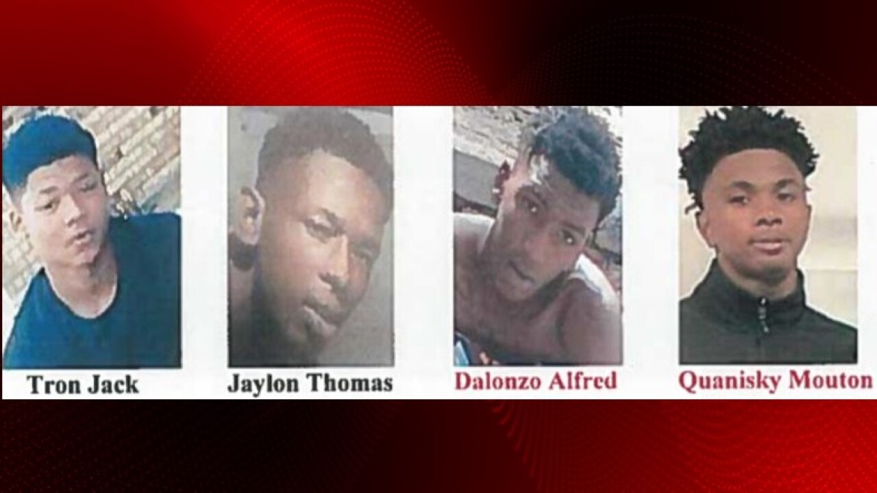 Two arrested, two wanted in Ville Platte home invasion