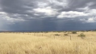 I-17 Cordes Lakes Storm Clouds 7-23-19