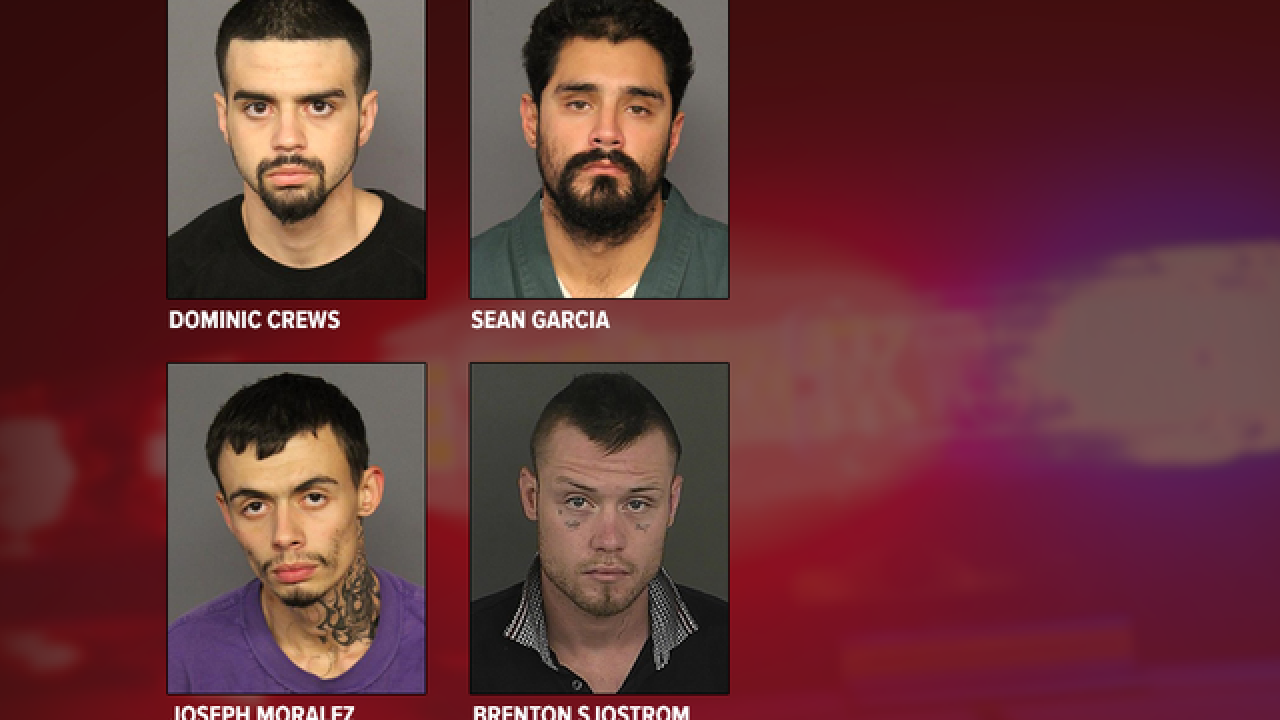 Police: 10 indicted in drug-fueled criminal enterprise targeting Denver-area homes, cars