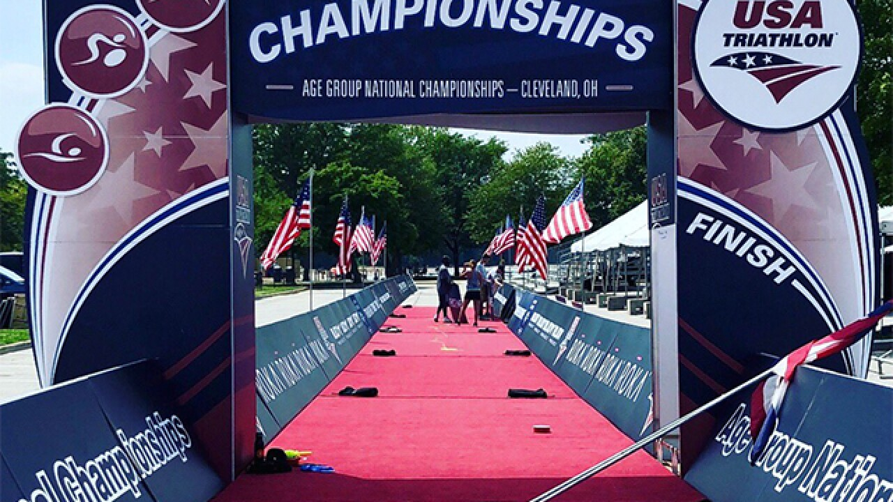 These are roads that will be closed for the 2018 USA Triathlon