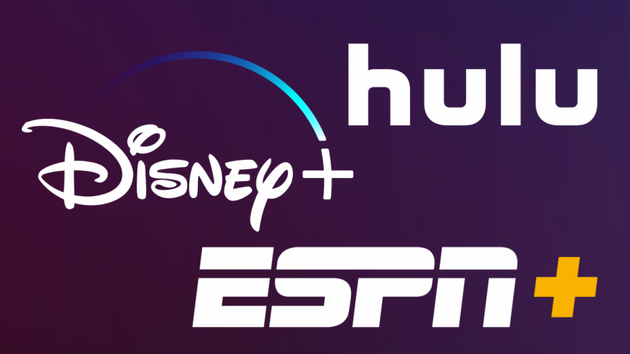 Disney to offer its three streaming services in a package for $13 a month