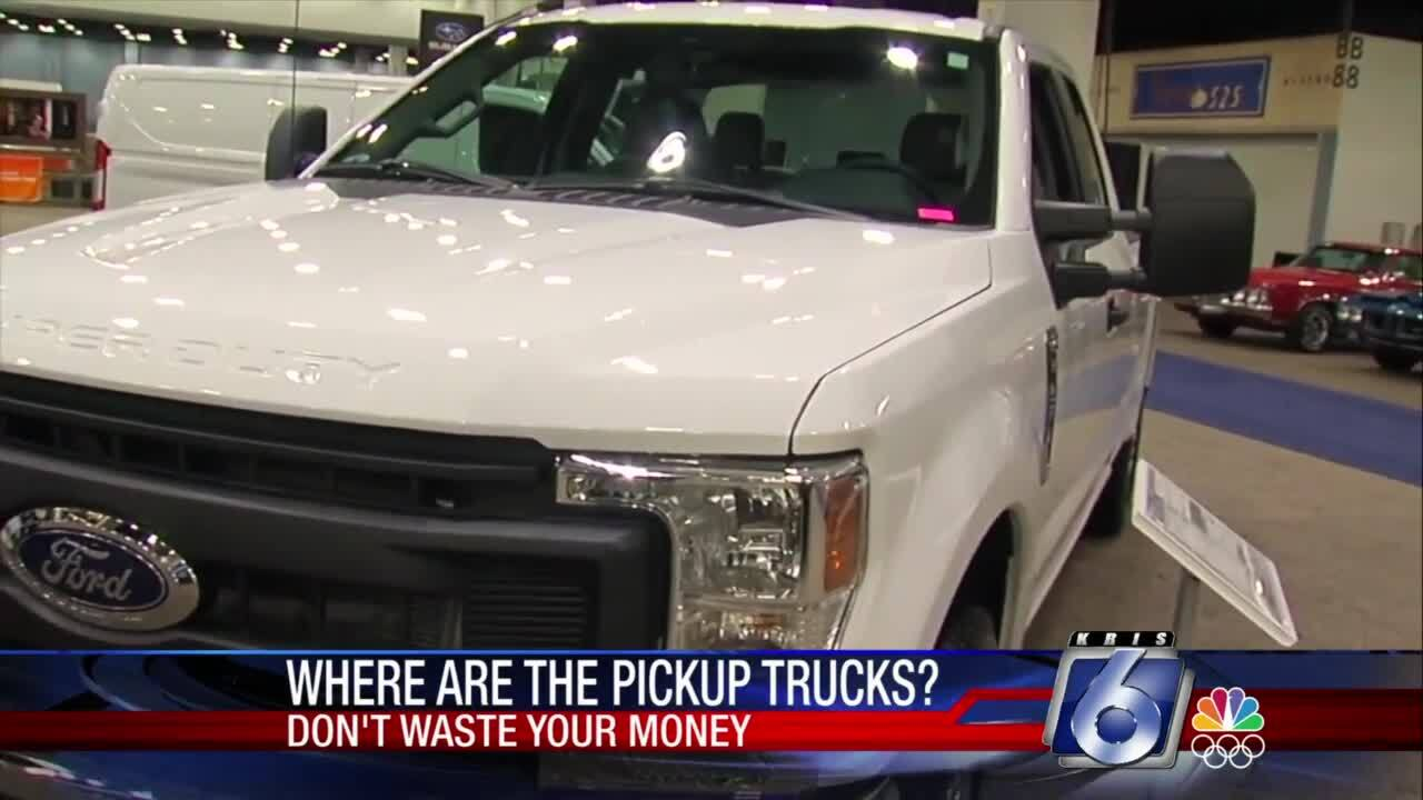 DWYM: Where are all the pickup trucks