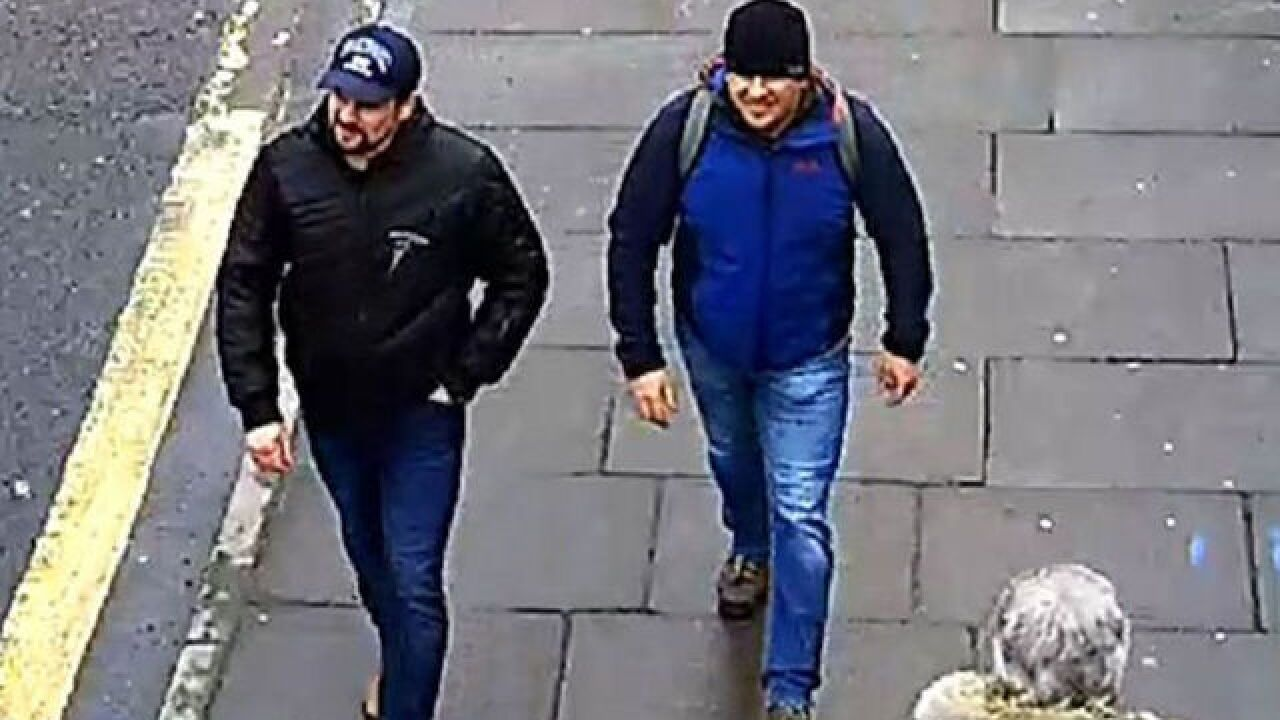 Putin: We know who the Novichok poisoning suspects are, and they're not criminals