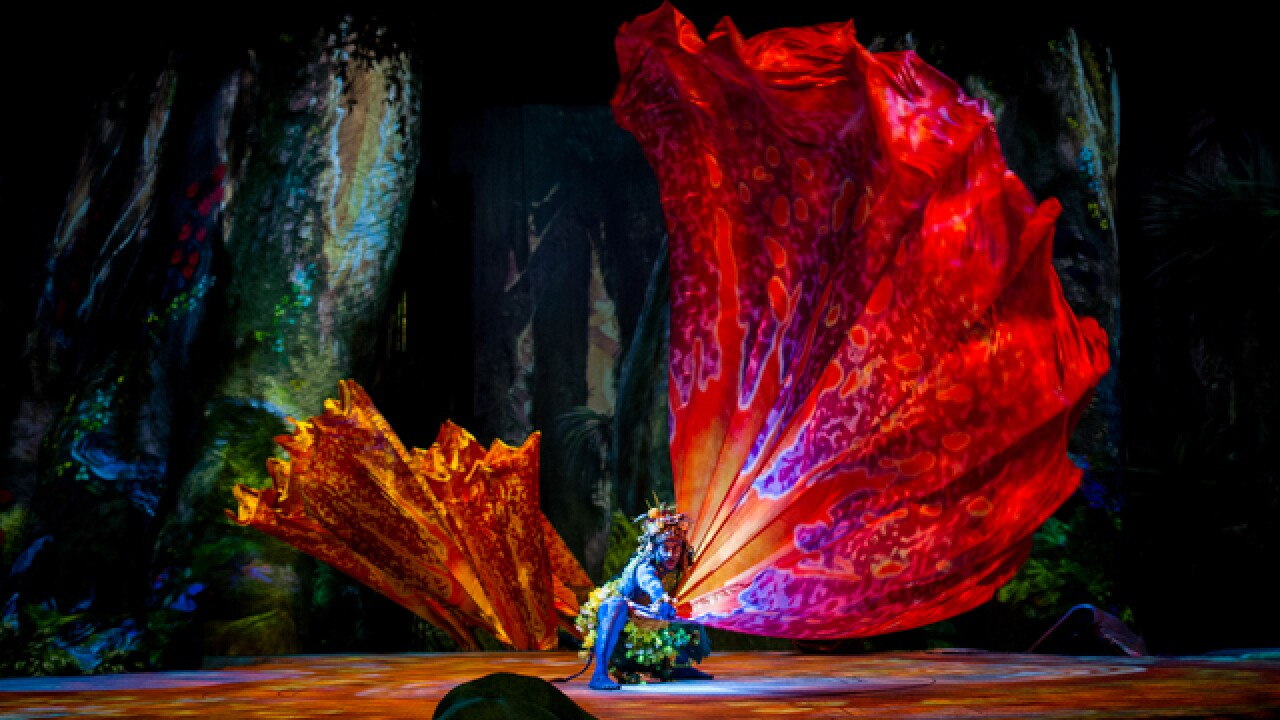 Cirque du Soleil amazes with Avatar-themed show