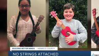 Henrico teacher raises money to buy students' ukuleles