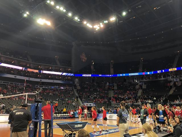 GALLERY: Nebraska volleyball's Final Four matchup with Penn State