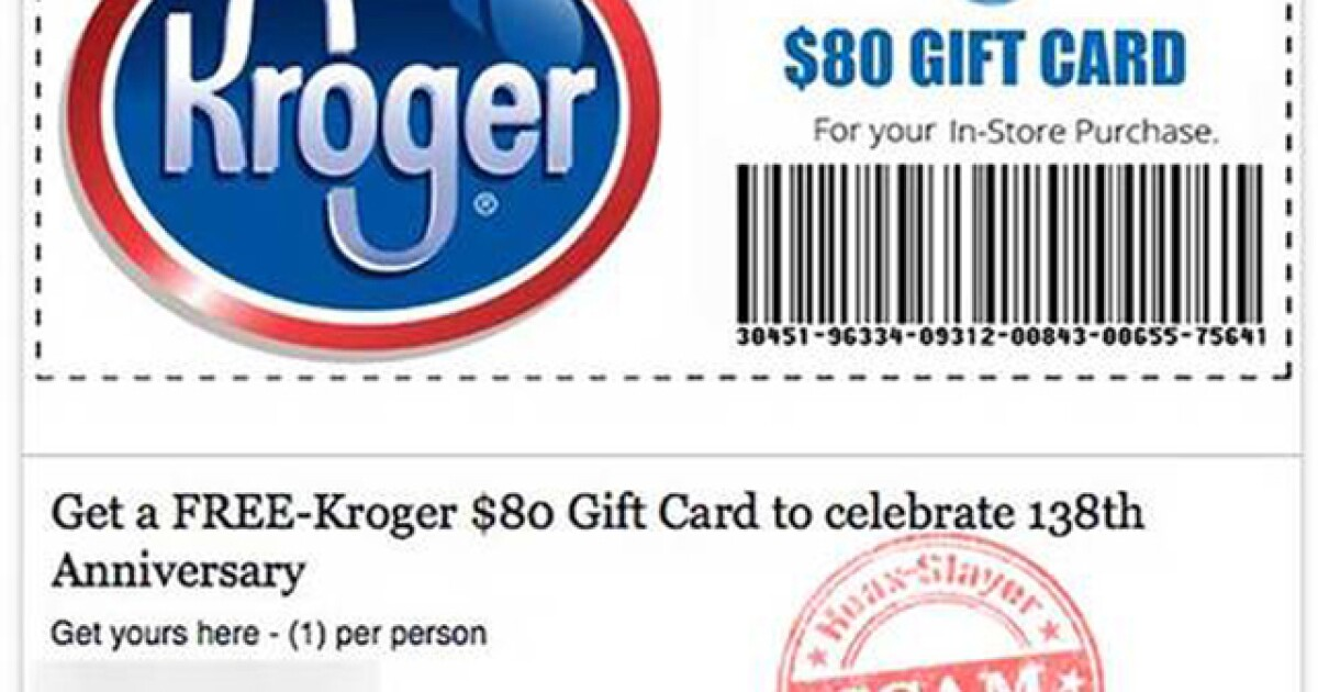 How To Tell If Kroger Survey Is Real Or A Scam