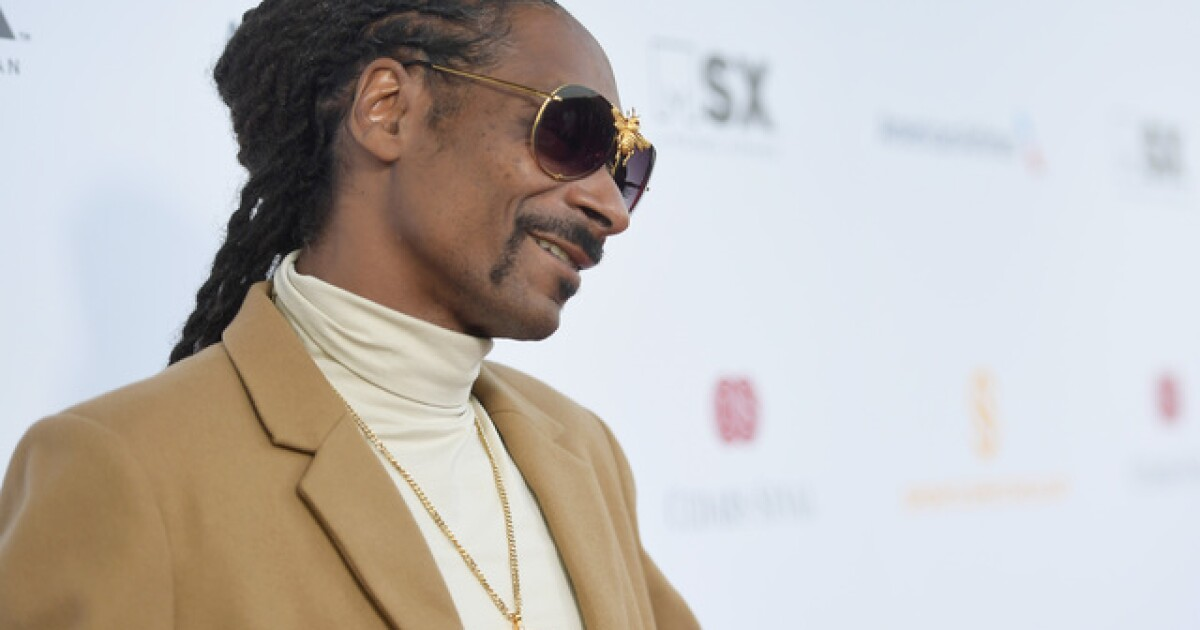 Snoop Dogg performing at House of Blues in January