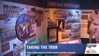 Ryan Takes a Tour of the Negro League Baseball Museum