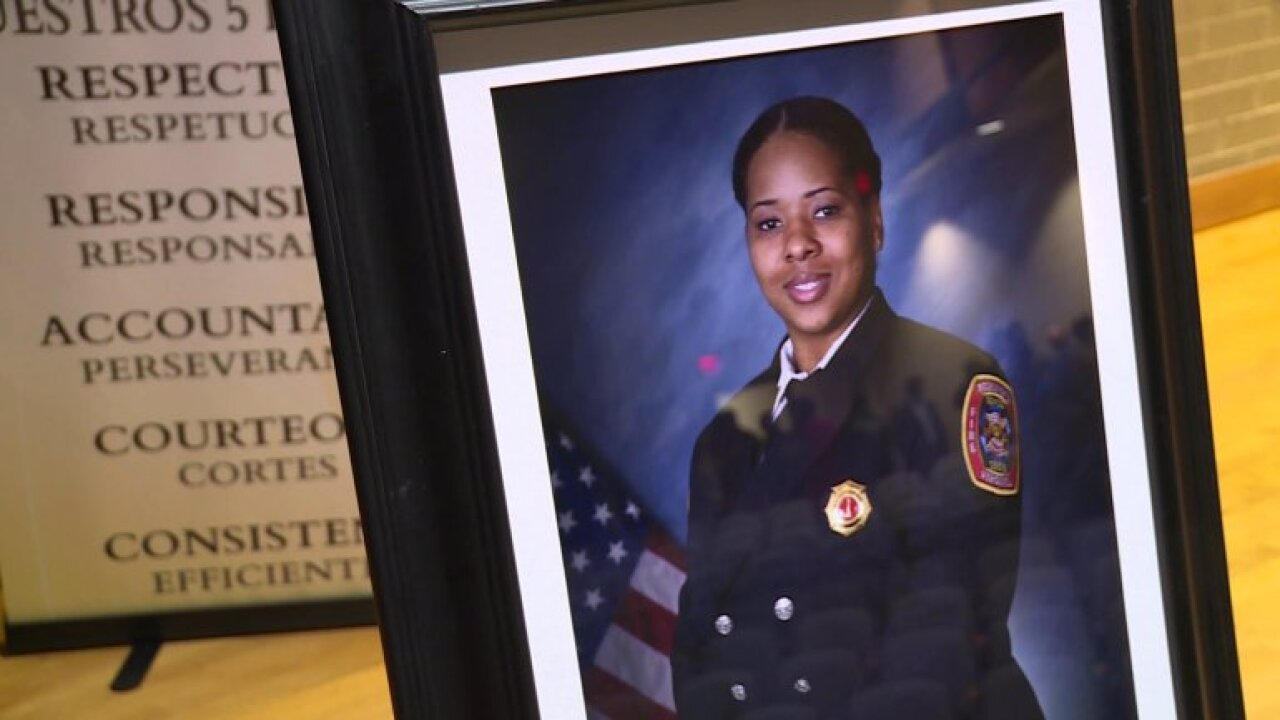 'She had the love of an angel, but the strength of a lion': Vigil held for murdered Richmond firefighter