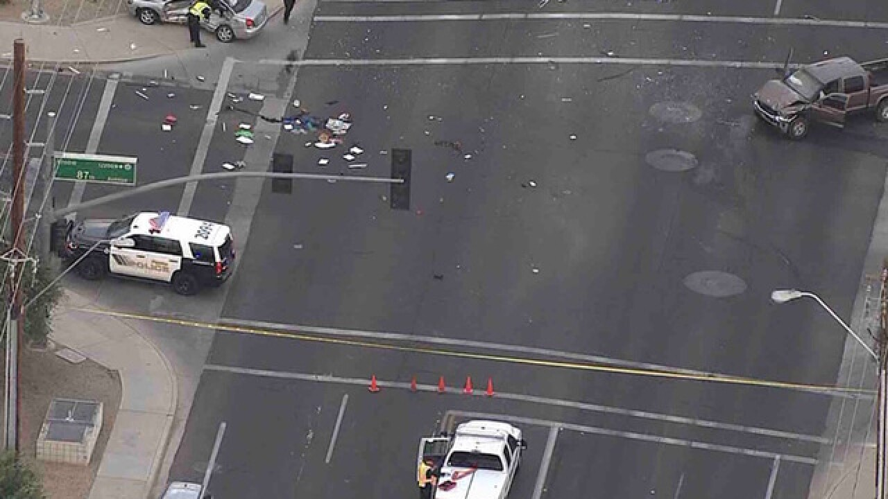 LIVE: Police investigating deadly Peoria crash