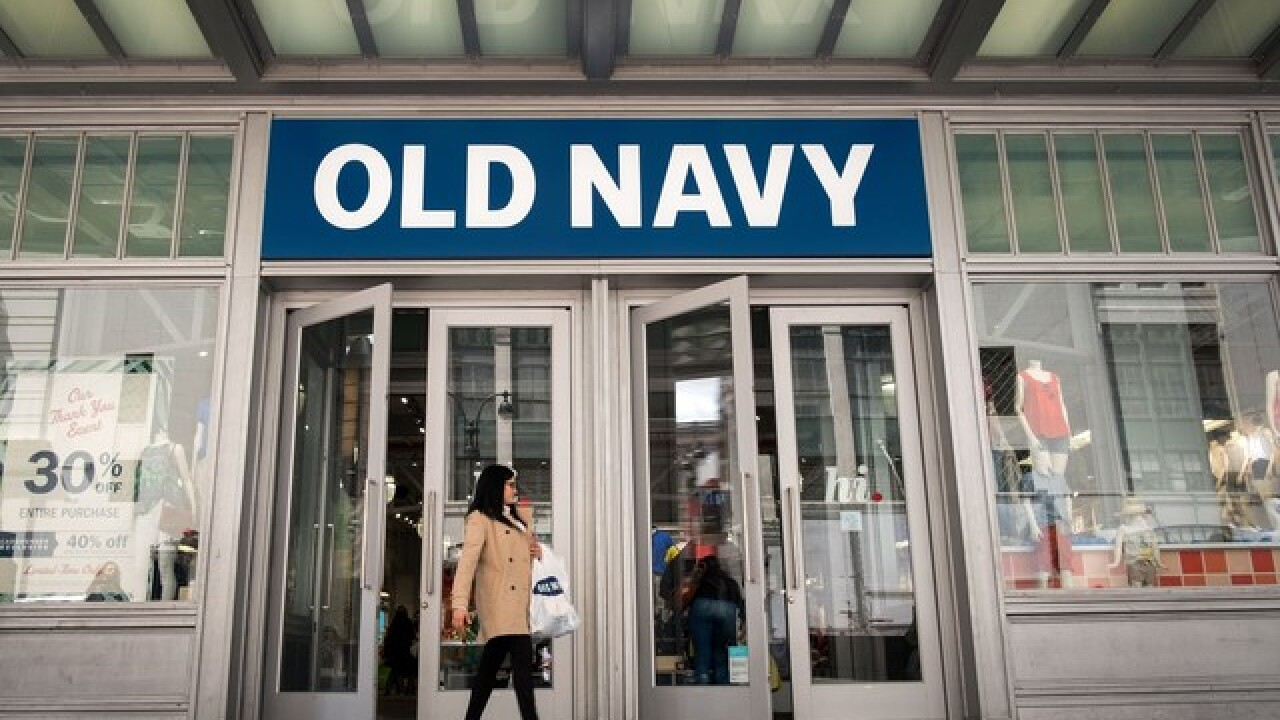 50% off at The Gap, Old Navy & Banana Republic