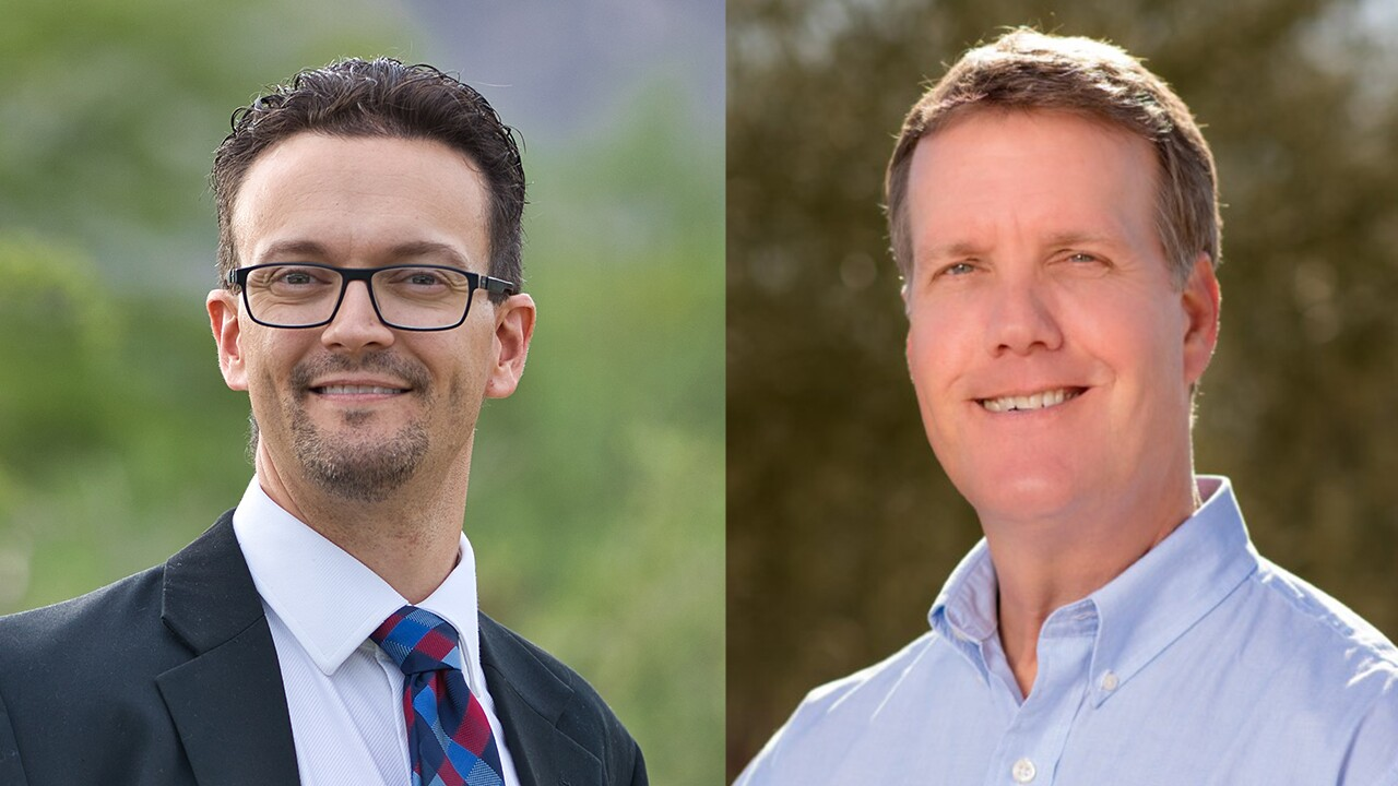 Republican Steve Spain and Democrat Rex Scott will face off in District 1 of the Pima County Board of Supervisors.