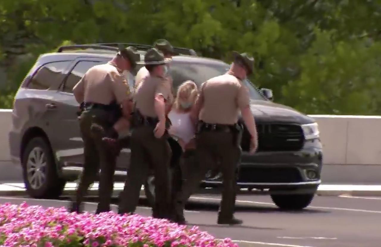 protest arrest