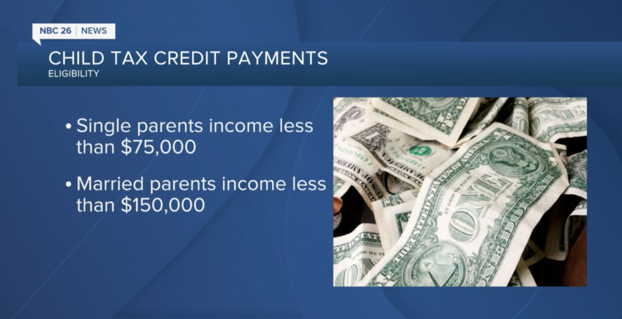 Child tax credit changes; more money for parents beginning July