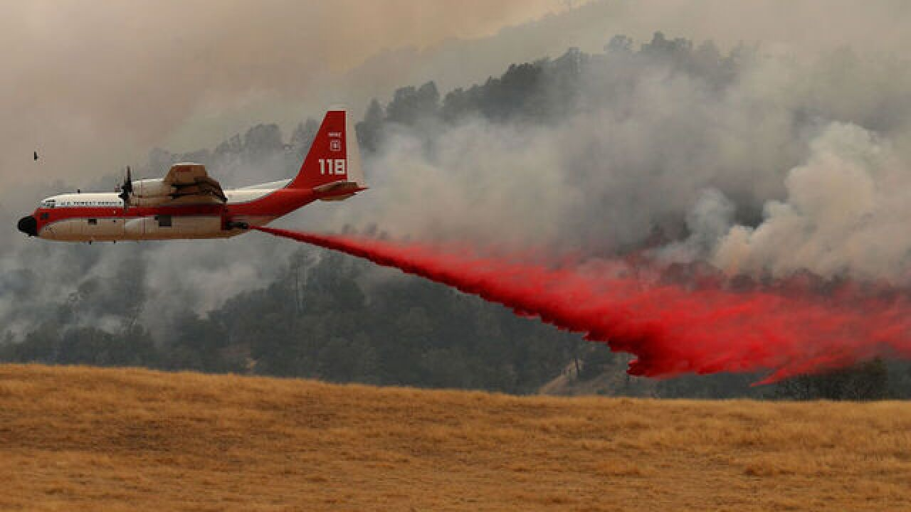 Fast-moving wildfire kills one in California, forces evacuations