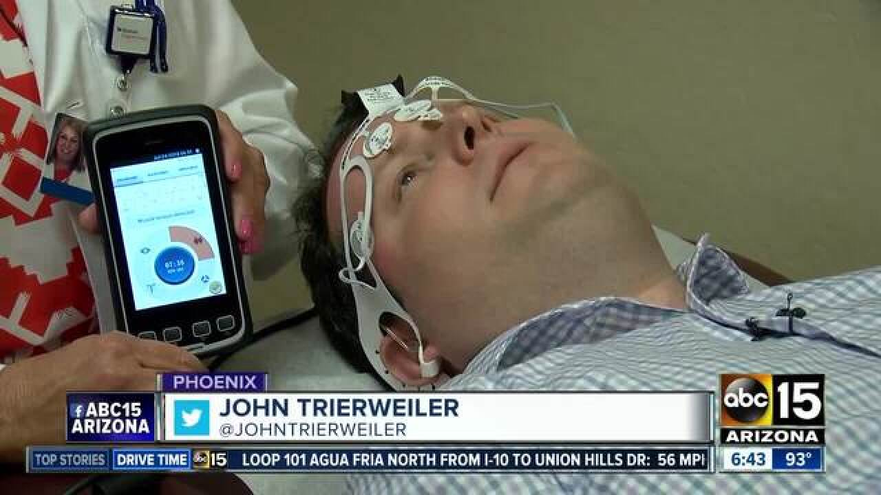 BrainScope is an easy test for brain injuries